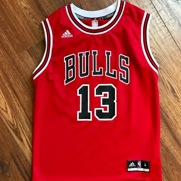 new concept 31517 5d3fc Chicago Bulls jersey 13